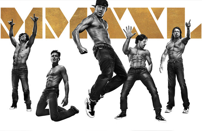 Magic Mike XXL Spray Tanning