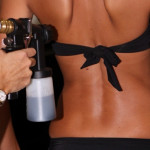South Seas Spray Tan Application
