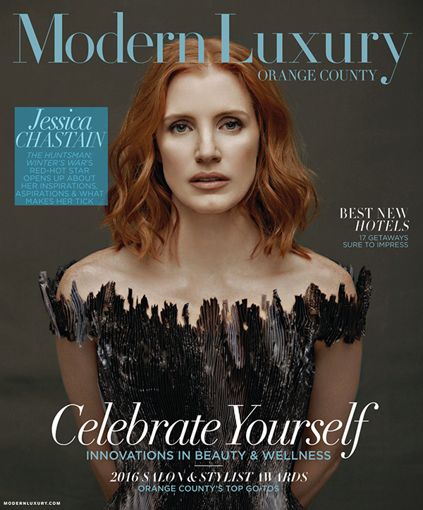 Modern Luxury Magazine Cover