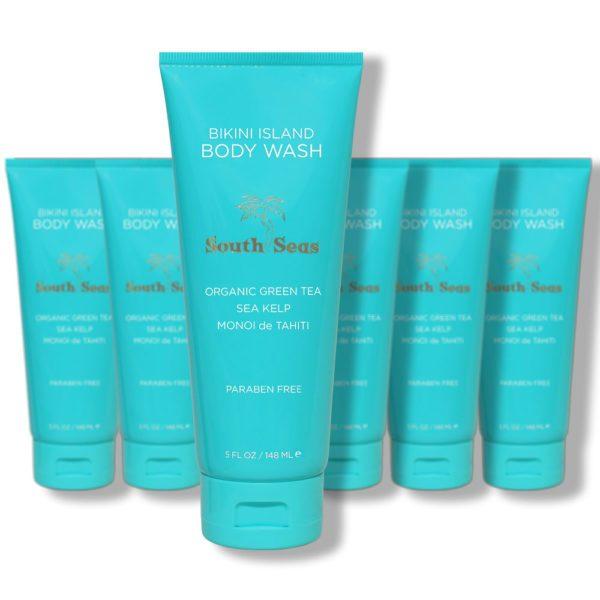 Bikini Island Body Wash 6 Pack