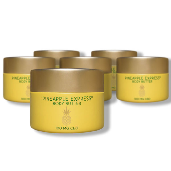 Pineapple Express Body Butter 6 Pack