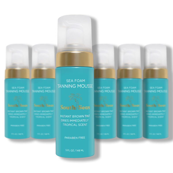 Sea Foam Tanning Mousse 6 Pack