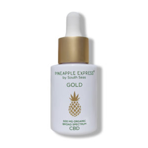Pineapple Express Gold CBD Drops - South Seas Skin Care
